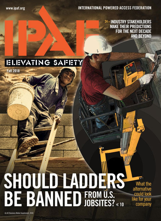 IPAF Elevating Safety 2018 - Cover