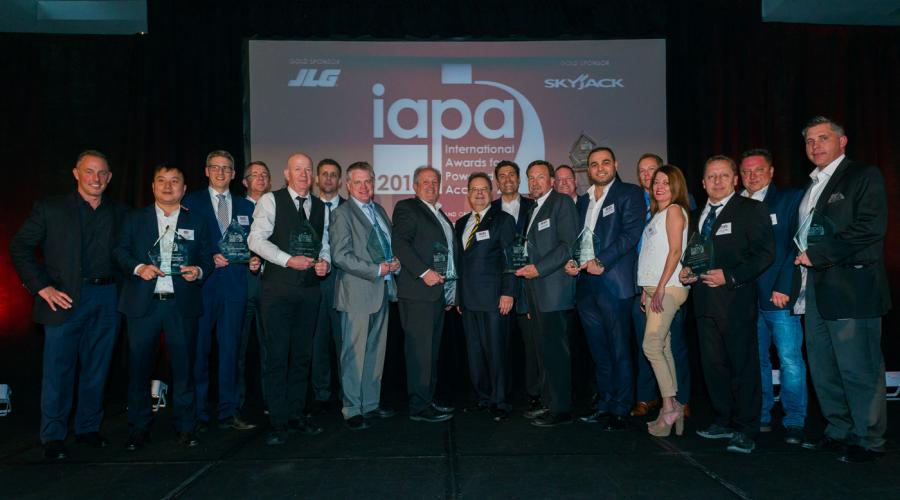 International Awards for Powered Access (IAPA) winners