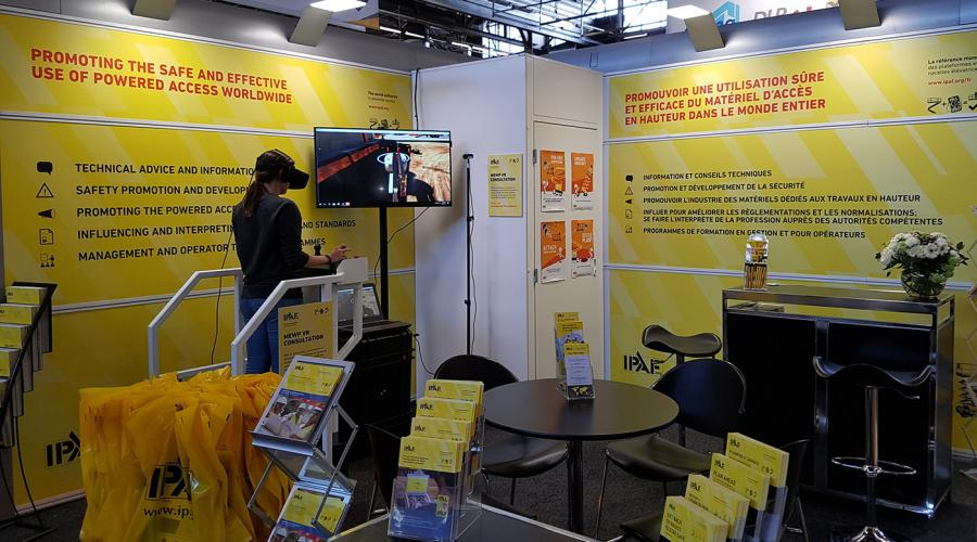 IPAF Stand at Intermat 2018, Paris