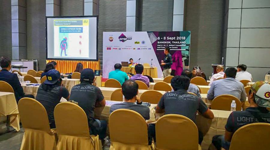 IPAF hosts inaugural Thailand Seminar at INTERMAT ASEAN
