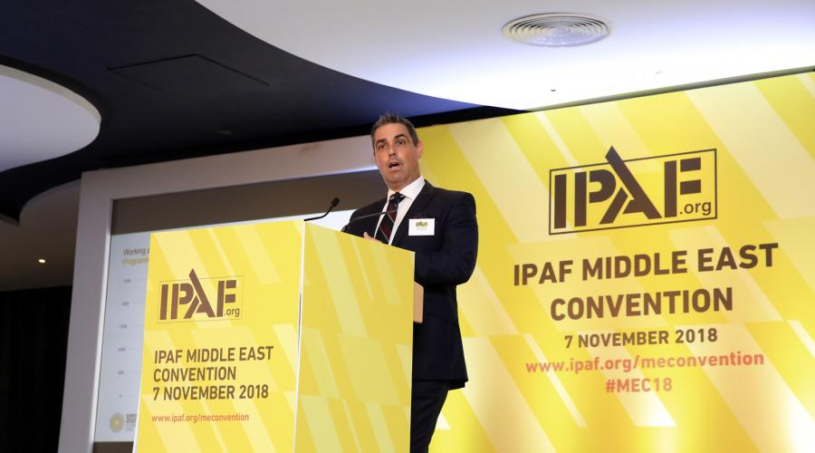 IPAF Middle East Convention 2018, Dubai - Rob Munn