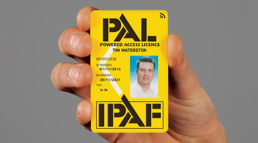 IPAF PAL Card IT