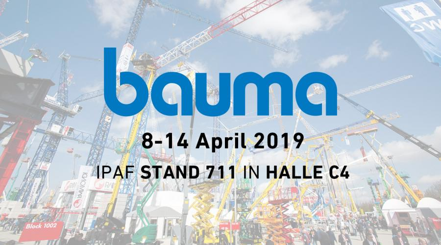 bauma 2019 - IPAF stand 711 in Halle C4