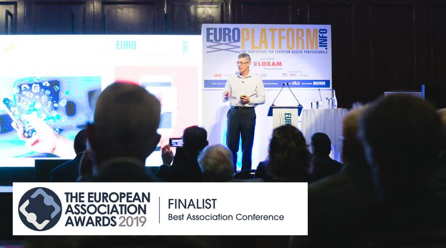 Europlatform is nominated for Best Association Conference at the European Association Awards 2019