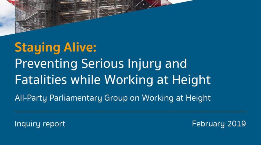 Staying Alive, APPG REPORT, February 2019
