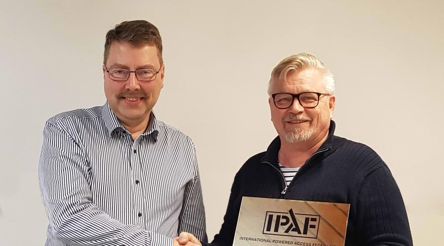 IPAF reintroduces accredited MEWP operator training to Finland