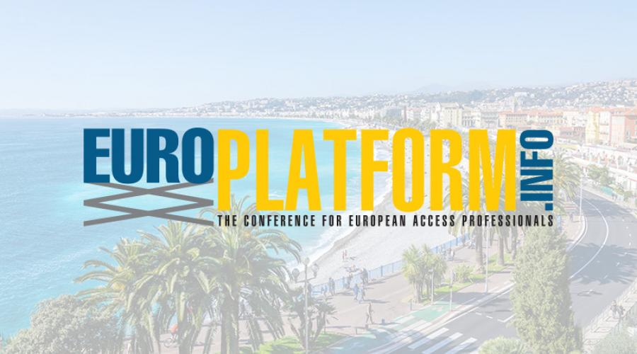 Europlatform 2019 to be hosted by IPAF in Nice, France