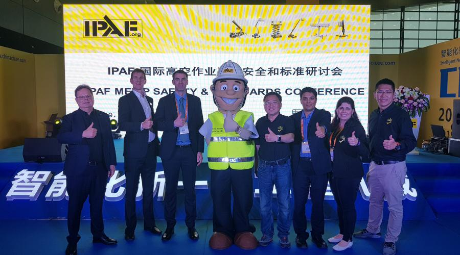The inaugural IPAF MEWP Safety & Standards Conference on 16 May 2019 alongside the Changsha International Construction Machinery Exhibition, Hunan Province, China