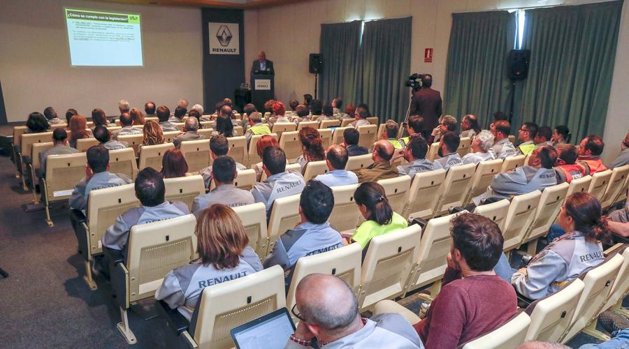 Safety Seminar at Renault, Spain, May 2019
