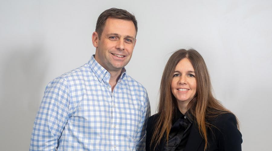 New IPAF board members Ben Hirst and Julie Houston Smyth, 2019