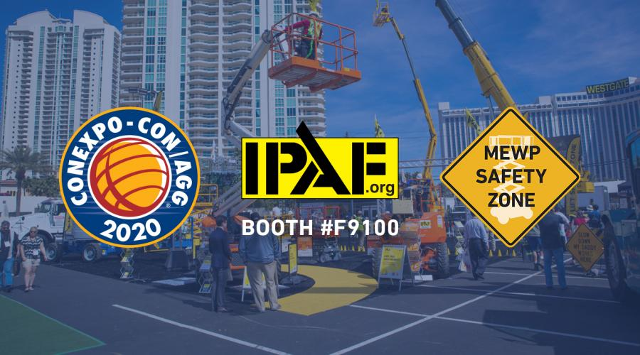 IPAF at CONEXPO 2020 - Booth F9100