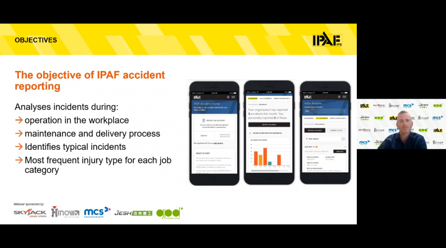 IPAF Accident Reporting Webinar