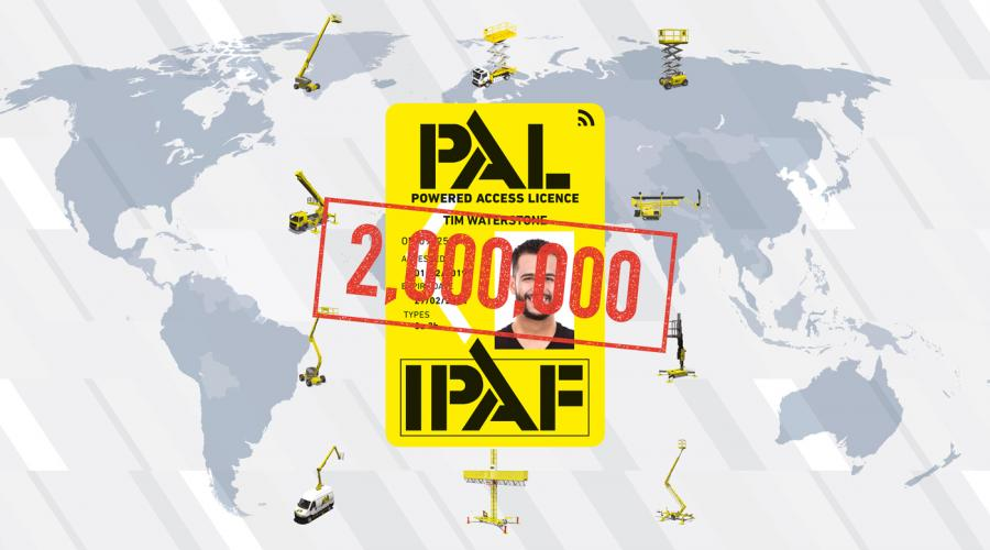 2Million PAL Card Graphic